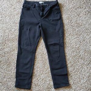 Free People Black Skinny Jean